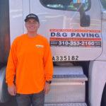 Adriaan Vasquez of D&G Paving