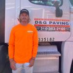 Luis Marquez of D&G Paving