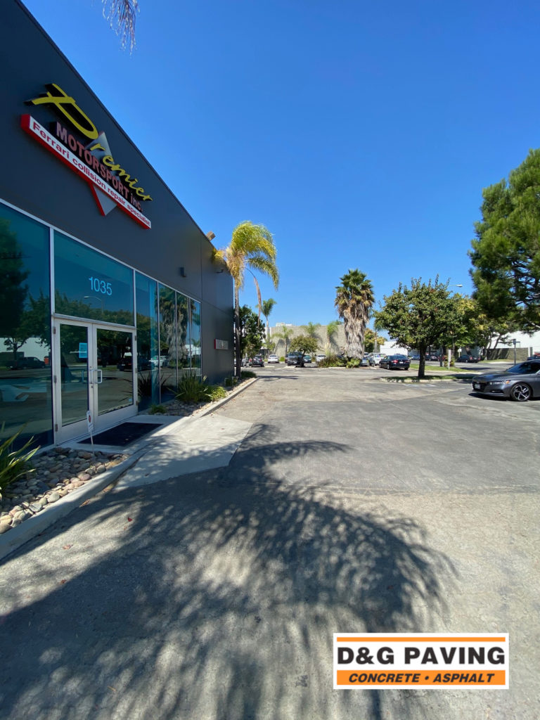 Premier Motorsport - before paving by D&G in Carson, CA